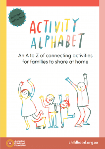 Free resources for children, young people and parents. Activity Alphabet